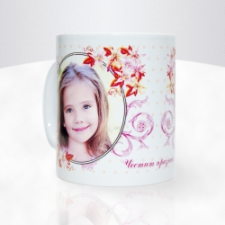 Чаша за 8-ми март - сувенирна реклама Варна