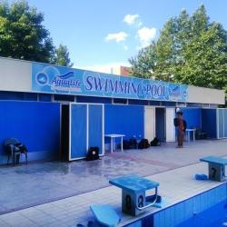 Външна реклама на плувен басейн