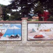 Реклама от винил на ограда - външна реклама Варна