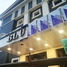 Алуминиеви панели еталбонд и светещи обемни букви - въшна реклама Варна