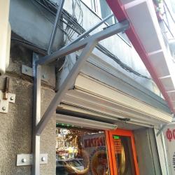Метална конструкция за обемни светещи букви - външна реклама Варна